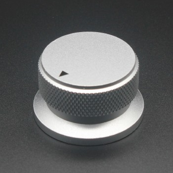 Aluminium Alloy Potentiometer Knob  Oven  Electric Appliance  Audio Amplifier  Adjusting Knob 34 x 20mm