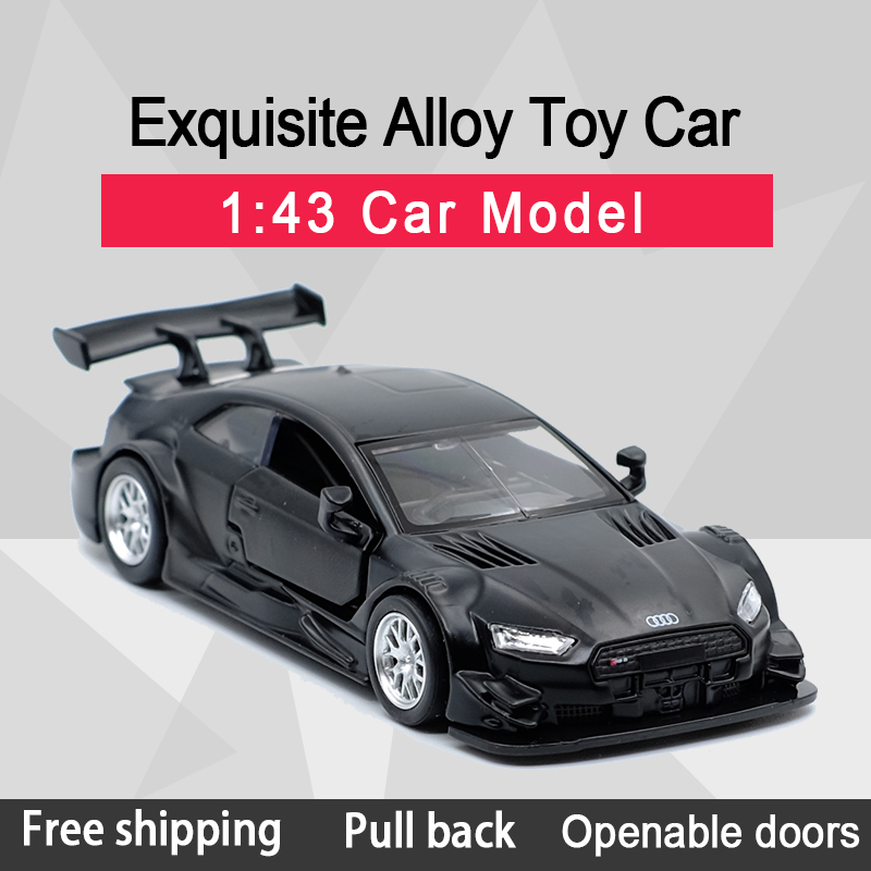 New Arrival Caipo 1:43  RS5 DTM Alloy Diecast Car Model Toy With Pull Back /For Children Gifts /Educational Toy Collection