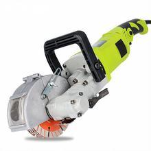 220В Электрический штроборез для стен, паз для резки стен, долбежная машина для резки стального бетона 220 кВт+ 4,8 K