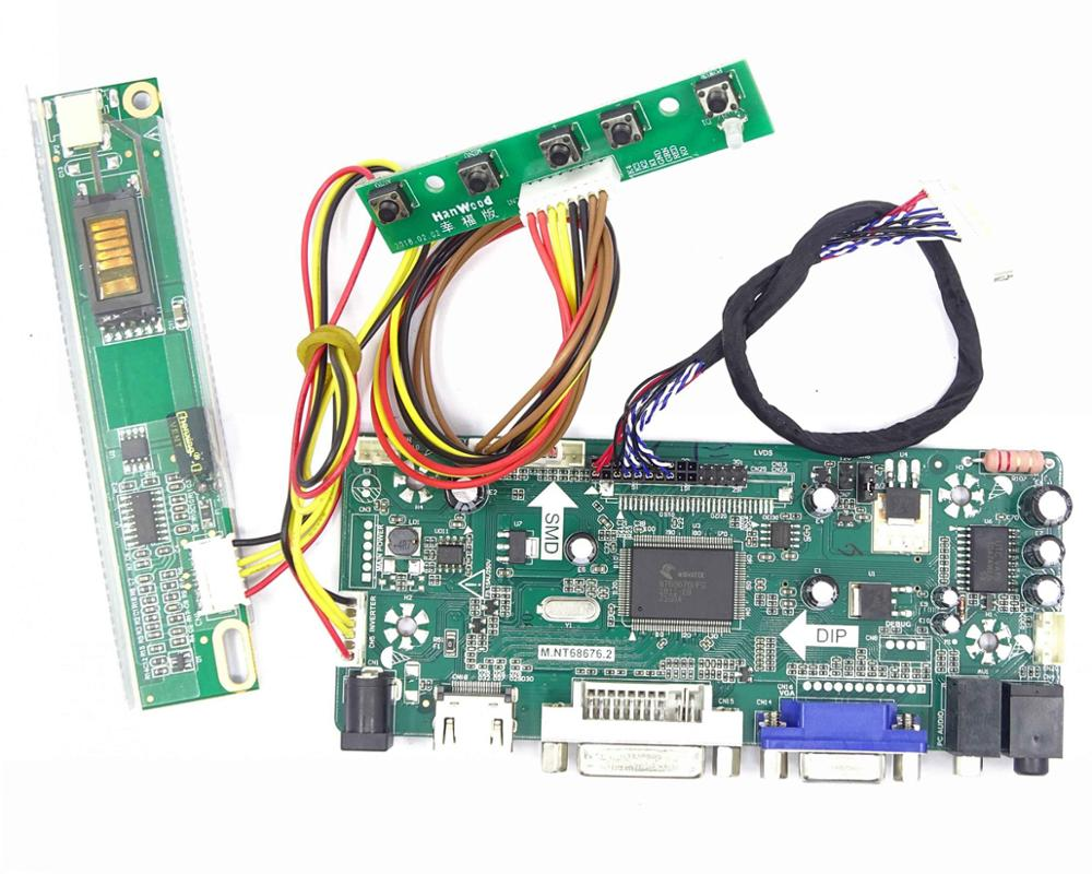 Image 2 - For 30pin  LTN154X3 L01/L01 LTN154X3 L03/L04 1280X800 Panel Screen Display LCD LED HDMI DVI VGA Aduio controller board card-in Laptop Repair Components from Computer & Office on