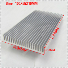 (Free shipping )2Pcs electronic radiator thermal conduction heat sink chip memory 100X55X10MM