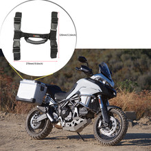 For Ducati multistrada 950 1200s 1260 enduro Handle for Aluminum Side Box 600D Oxford For BMW r1200gs F800gs F700 650GS ADV(China)