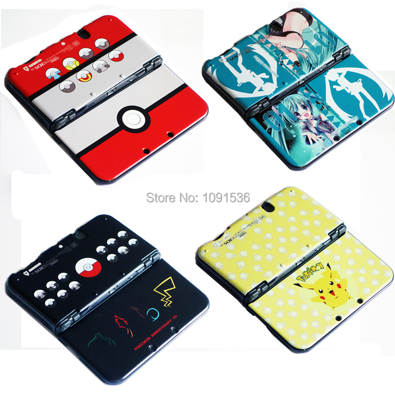 Crystal Clear Case Shell Skin for Nintendo New 3DS XL Protective