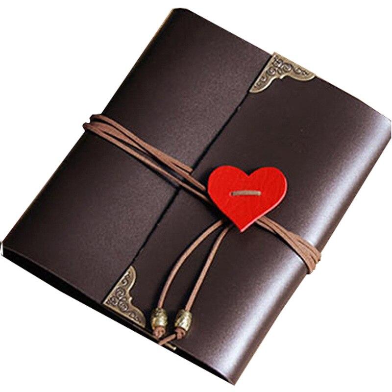 Couro do plutônio 30 folhas de papel preto cartão amor tema casamento diy álbum feito à mão foto vintage scrapbooking álbum