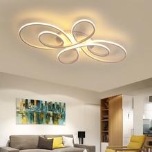 NEO Gleam Neue Heiße RC Weiß/Kaffee Moderne Led deckenleuchten Für Wohnzimmer Schlafzimmer Studie Zimmer Dimmbare Decke lampe Leuchten