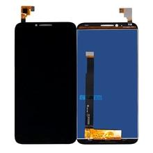 Cho Alcatel One Touch Idol 2 OT6037 Màn Hình LCD Bộ Số Hóa Màn Hình Cảm Ứng Cảm Biến Lắp Ráp Cho Alcatel 6037 Màn Hình Miễn Phí Vận Chuyển
