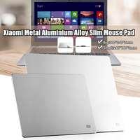 Xiaomi MI Metal Aluminum Alloy Slim Mouse Pad Computer Mouse Pad Gaming Mousepad Anti slip Mat Fashion Desk Mousepad