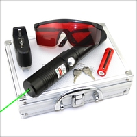 CNILasers GX1 Adjustable Focus 532nm Green Laser Pointer Visible Laser Beam High Power Lazer Torch Camping Signal Lamp Hunting