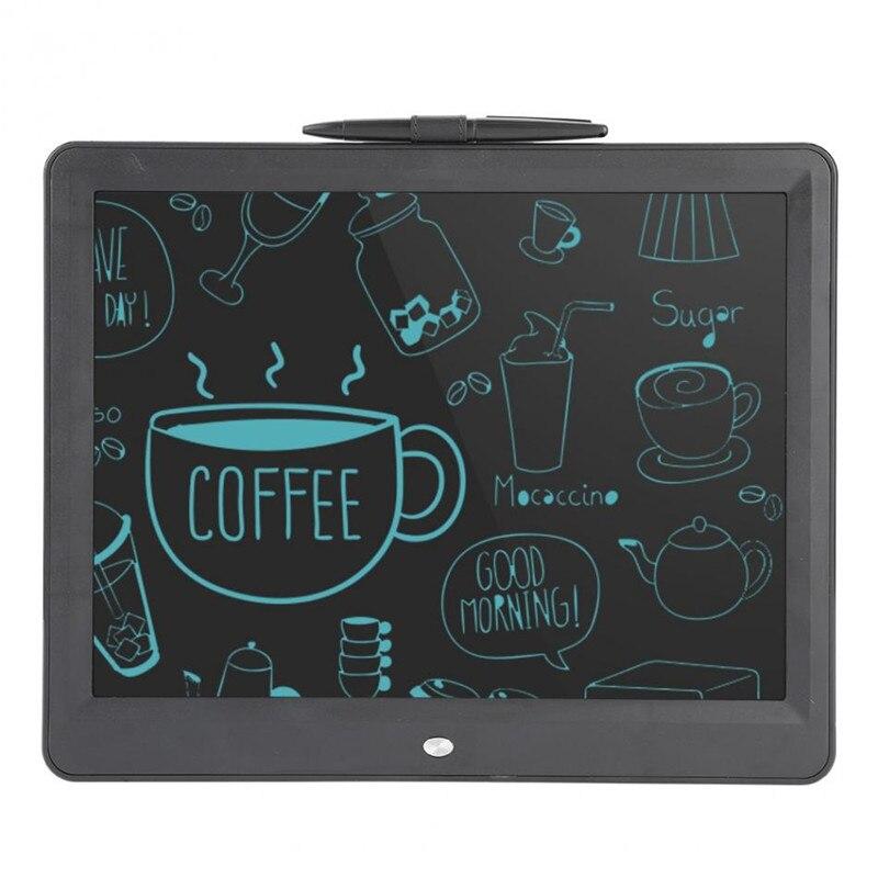 15 ''LCD Tablette Numérique Sain Écriture Planche à Dessin avec Stylet Pile Bouton Tactile Pad Note PC