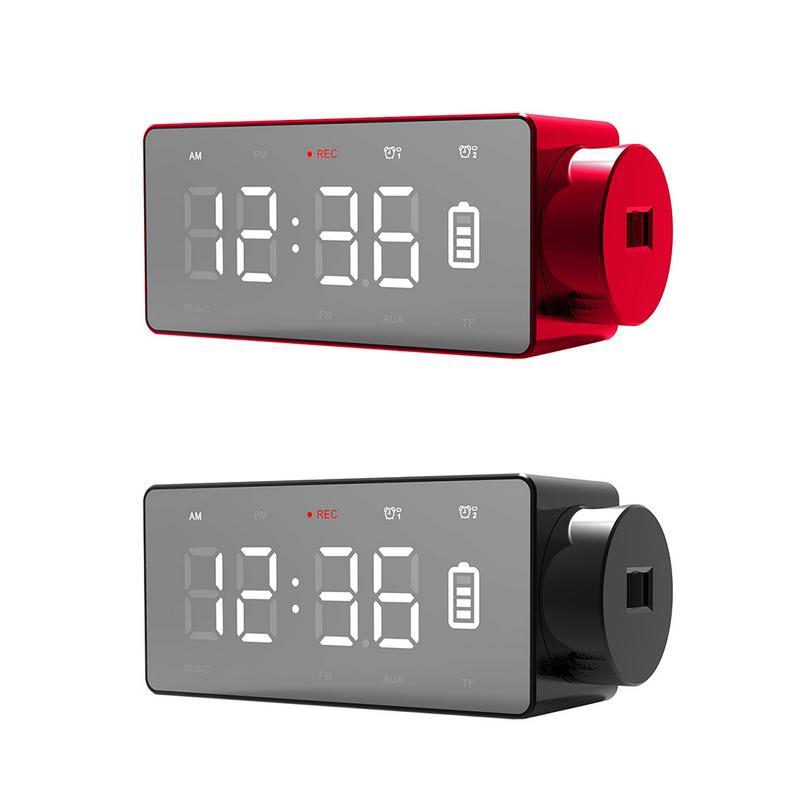 Nouveau haut-parleur Bluetooth réveil Audio sans fil charge bleu nouveau chevet innovant haut-parleur intelligent réveils électroniques