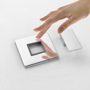 Image 4 - Sowll bateria natryskowa zawór prysznic kran mosiądz łazienka zawór ciepłej zimnej kąpieli zawór ścienny wody z kranu torneira chuveiro