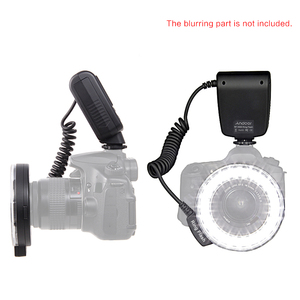 Image 5 - Andoer RF 550D Macro LED anneau Flash Flash Speedlite pour Canon Nikon Sony Olympus Pentax GN15 Flash lumière