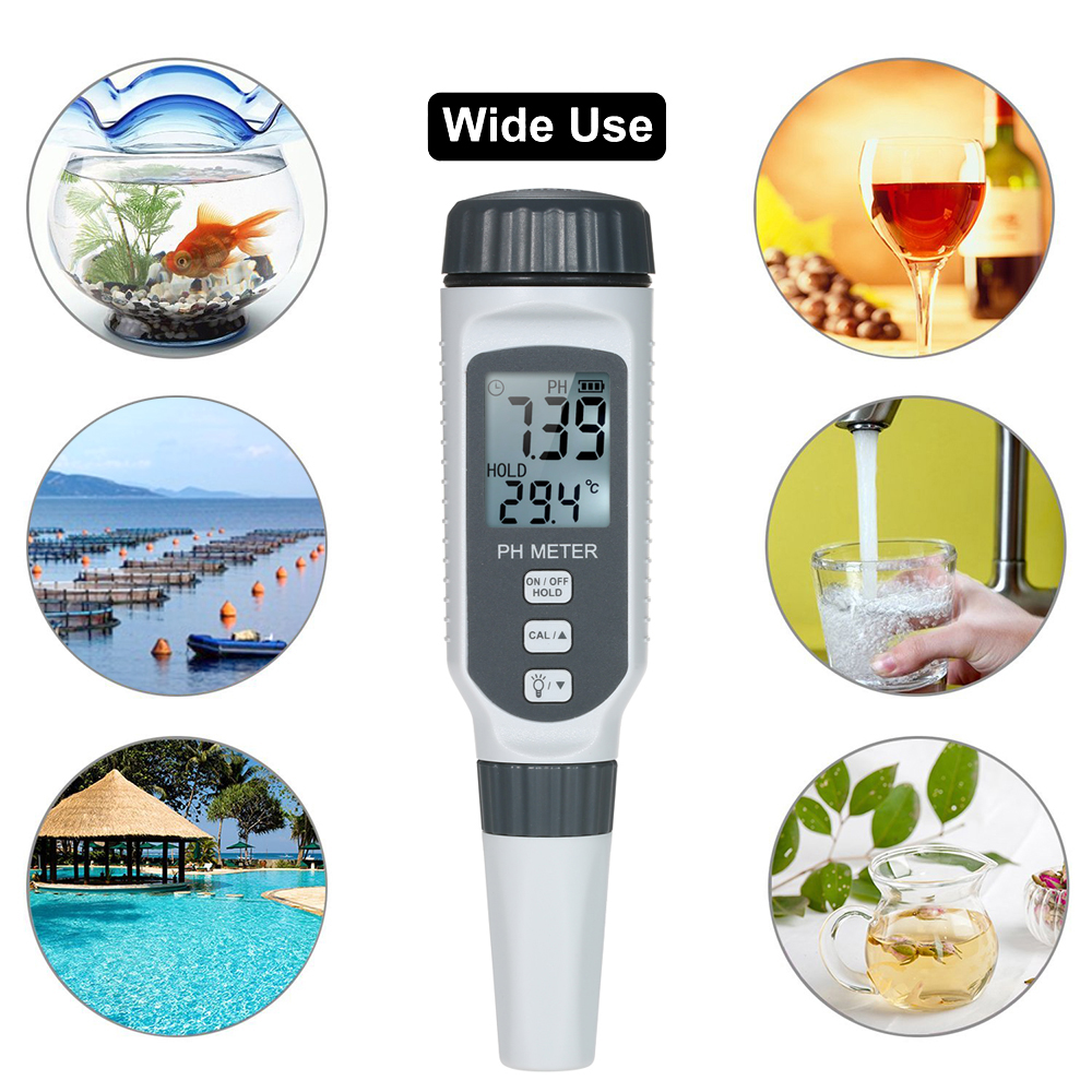 Professional Ph Water Quality Tester Portable Pen Type Ph -7994