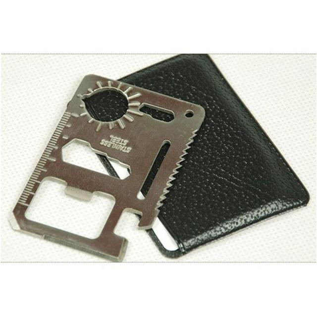 Outdoor Stainless Steel Credit Card Knife 6