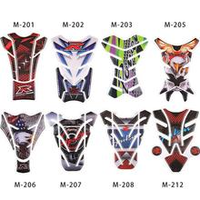 3D Motor Car Sticker Motorcycle Modification Parts Gas Fuel Oil Tank Protection Crystal Epoxy Fish Personalized Knight Decal