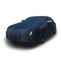 waterproof car covers outdoor sun protection cover for car reflector dust rain snow protective suv sedan hatchback full