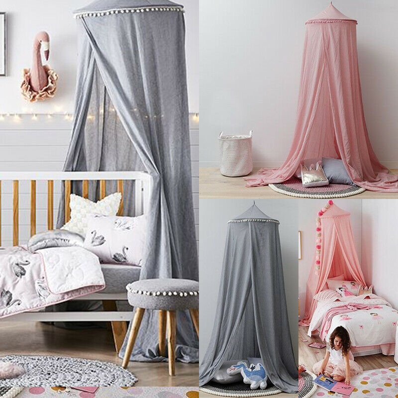 Knowledgeable New Kid Baby Bed Canopy Cotton Mosquito Net Crib Netting Baby Curtain Bedding Round Dome Tent Crib Netting