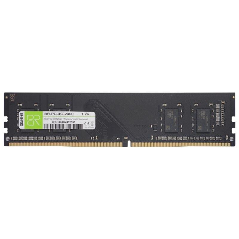 BR Béliers DDR4 4 GB 8 GB 16 GB 2400 Mhz De Bureau 288 broches 1.2 V Interne Mémoire Ram Pour PC