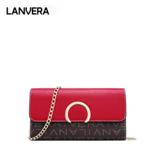 hot deal buy lanvera fashion crossbody bags for women zipper clutch shoulder bag luxury women handbags designer evening bags 8671