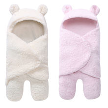 Г. Модные теплые комфорт для новорожденных Для маленьких мальчиков для пеленания девочек спальный Обёрточная бумага Одеяло Костюмы для фотосъемки