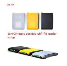 1-3m long middle distance proximity card reader usb epc gen2 passive tag 865-868mhz 900mhz usb uhf rfid desktop reader writer