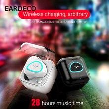 EARDECO Mini Fones de Ouvido Sem Fio Fones De Ouvido fone de Ouvido Handsfree Fone de Ouvido Bluetooth Invisível Baixo Earbud Fone de Ouvido com Microfone para Telefone