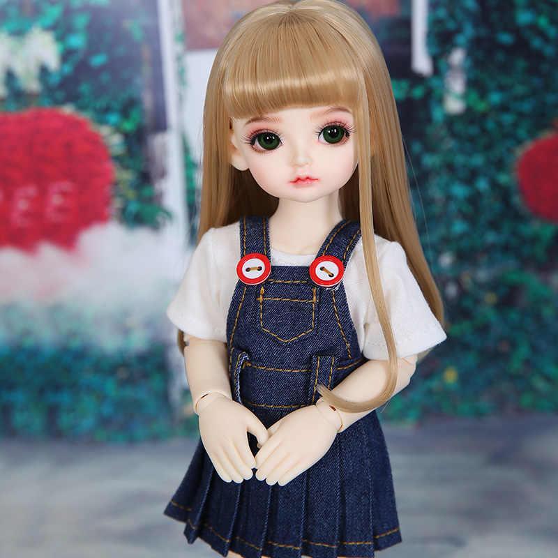 OUENEIFS Rita 1/6 muñeca BJD SD modelo completo para bebés y niños, ojos, juguetes de alta calidad, figuras de resina