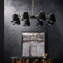 Modern LED Ceiling Lights Lighting Wind Living Room Ceiling Lamps Loft Vintage Iron Study Bedroom Restaurant Kitchen Fixtures цена 2017