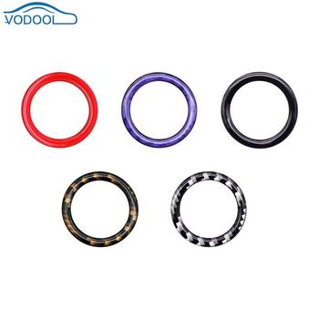 VODOOL Car Engine Start Stop Button Decoration Ring Trim For BMW 1/3/5 Series E87 E90 E60 320 Car Accessories Interior Mouldings image