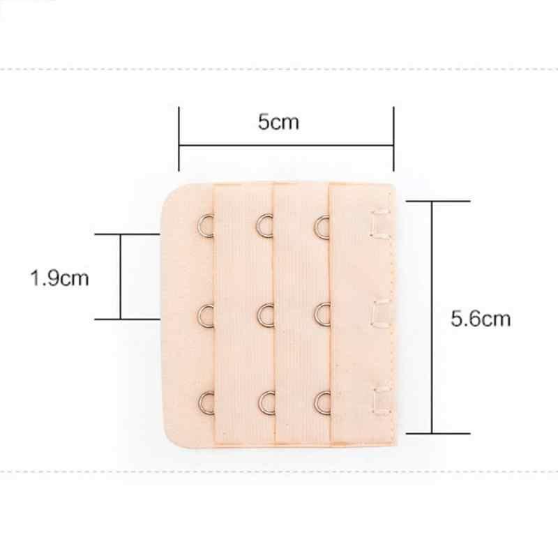 MISS M 1/3/6pc wysokiej jakości elastyczny biustonosz wydłużony klamra rozszerzenie zapinka do biustonosza trzy rzędy trzyrzędowe haftki bielizna damska bielizna