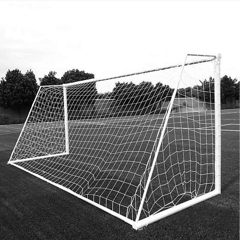 Standard Single Football Net 11 Outdoor Training Game Rebound Protective Nets Soccer Goal Football Net Junior Sports Training