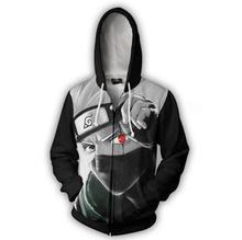 Anime Naruto Boruto Hoodie Uzumaki Uchiha Sasuke Akatsuki Tops Hoodies Sweatshirt Thin Zipper Coat Outfit