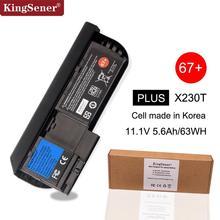 KingSener كوريا الخليوي X230T اللوحي بطارية لأجهزة لينوفو ثينك باد X230T 45N1078 45N1079 45N1075 45N1077 45N1074 67 + 11.1 V 63WH