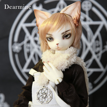OUNEEIFS Oskar Creature Claw Dearmine 1/4 bjd sd resin figures body model  man dolls eyes High Quality toys cat make up