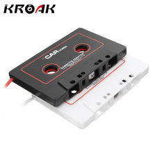 Universal Car Cassette Tape Stereo Adapter Tape Converter For iPod for iPhones MP3/4 AUX Cable CD Player 3.5mm Jack Plug(China)