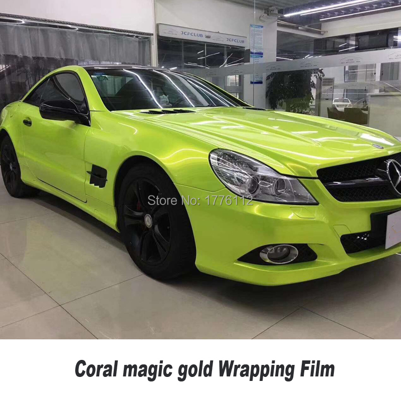 magice gold wrap viny serie Quality assurance car vinyl wraps air release High quality market Germany