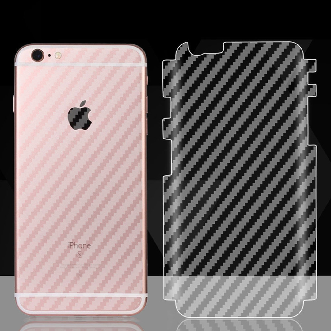 buy coque phone case for iphone 7 plus 8 plus clear soft carbon fiber back film
