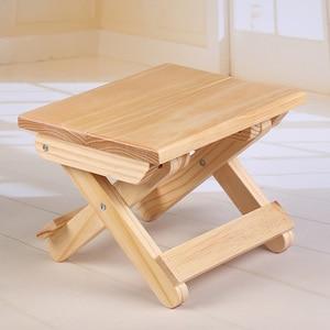 Image 5 - ไม้พับสตูลครัวเรือนพับสตูลแบบพกพาน้ำหนักเบาพับเก้าอี้สำหรับตกปลา Camping กลางแจ้งปิกนิก
