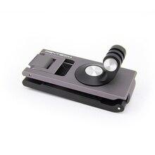 תרמיל קבוע רצועות מתאם סוגר לdji אוסמו כיס כף יד gimbal עבור gopro hero מצלמה אבזרים