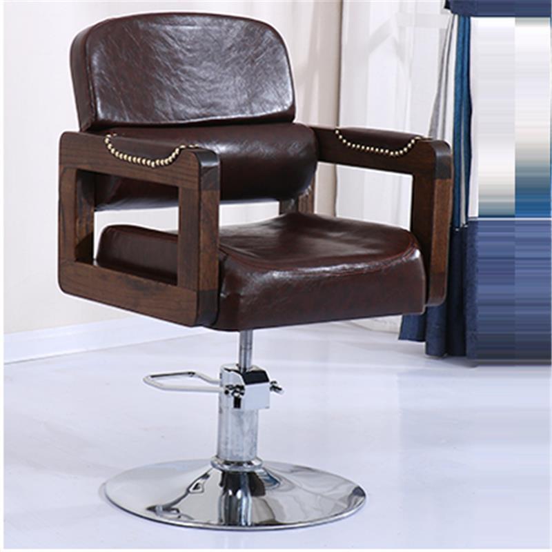 Image 4 - Sedie Cabeleireiro Stoel Cadeira De Barbeiro Stoelen Nail Furniture Kappersstoelen Silla Barbershop Salon Barbearia Barber Chair-in Barber Chairs from Furniture
