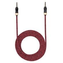 Orico Am-Pg2-Rd-Bp 3,5 мм разъем 100 см плетеный нейлоновый аудио кабель удлинитель для наушников Aux аудио для наушников динамик ноутбук автомобиль