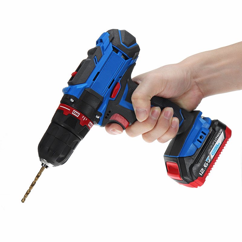 doersupp 12.6V Lithium Battery Electric Screwdriver Double Speed Adjustment Cordless Drill bit Torque drill Power Toolsdoersupp 12.6V Lithium Battery Electric Screwdriver Double Speed Adjustment Cordless Drill bit Torque drill Power Tools