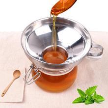 Широкий, из нержавеющей стали Воронка Canning фильтр от насекомых пищевых Маринов варенья Воронка Кухонные гаджеты инструмент для приготовления пищи