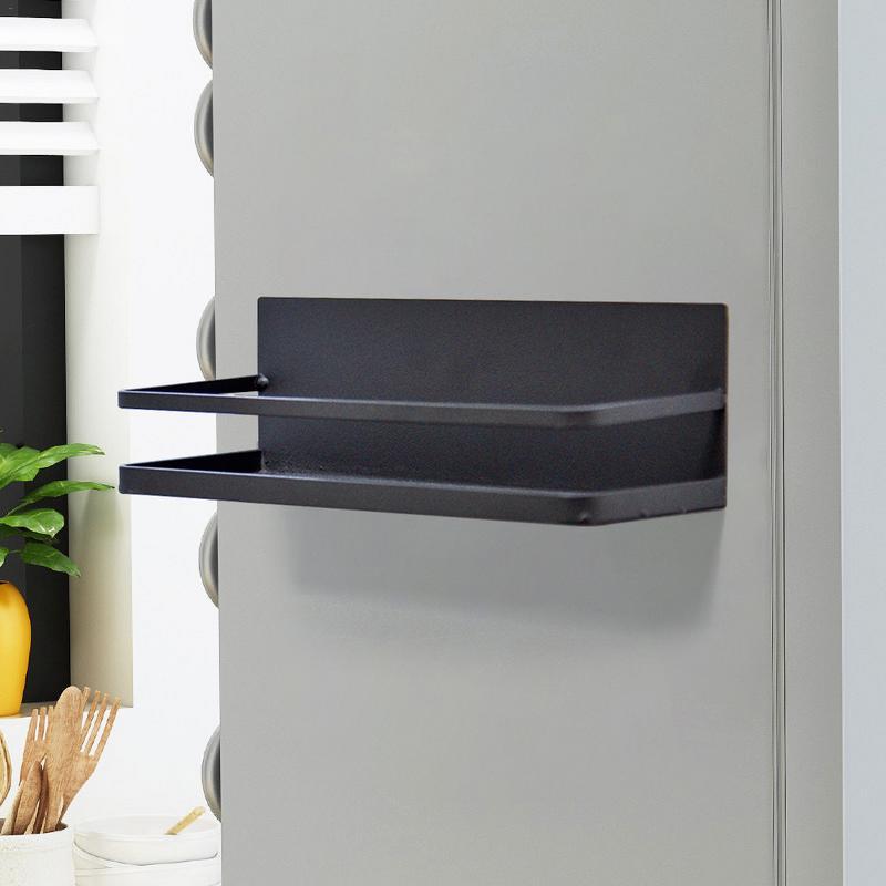 Kitchen Shelf Refrigerator Side Magnetic Absorption Storage Rack Bathroom Storage Storage Rack Shelf Refrigerator Side Shelf