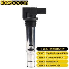 Dasbecan Coil Ignition 036 905 715 F/036 For Audi A1 A2 A3 Golf IV Bora POLO Skoda OCTAVIA PRAKTIK FABIA