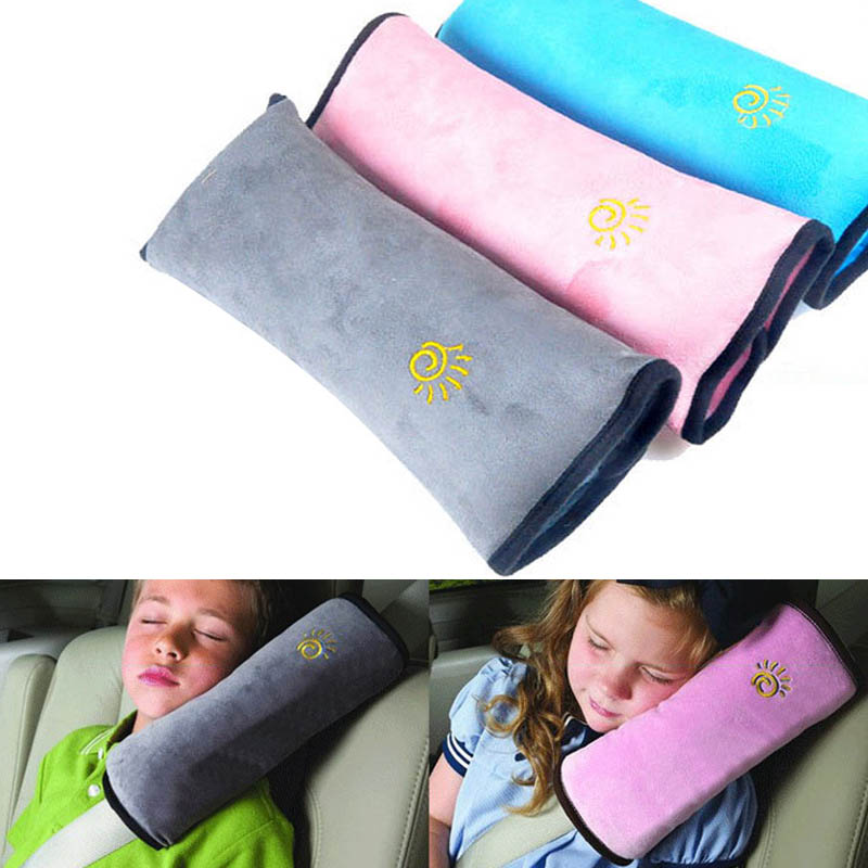 Child Soft Plush Safety Belt Cover Padding Sleeve Shoulder Protection Guards Car Auto Interior Accessoriesl