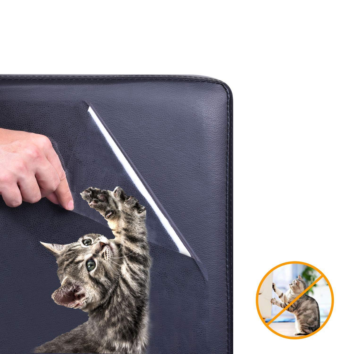 Hot 5 Pack Furniture Protectors From Cats Pet Couch