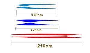 Image 2 - ドアサイドデカール車のステッカーの装飾のために適合自動反射ウエストライン 3 色