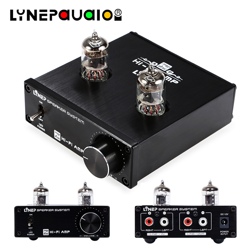 6j1 Vacuum Tube Amplifier Front Stereo Amplifier RCA Signal Input And Output With Sound Adjustment Control