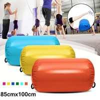 85x100cm AirTrack Inflatable Gymnastics Gym Air Mat Floor Home Gymnastics Exercise Inverted Backflip Round Column Tumbling Mat